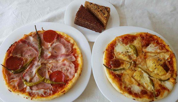 2db 24 cm pizza marlenkával