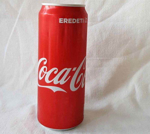 0,33 literes coca cola