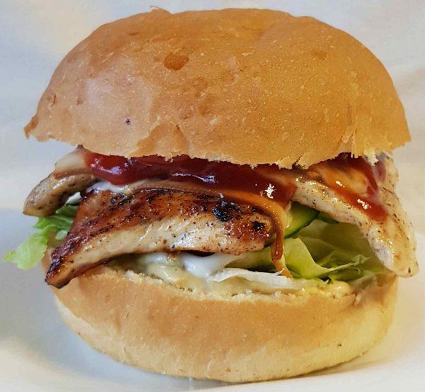 Dupla csirke hamburger