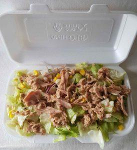 Tonhal saláta rendelés Budaörs