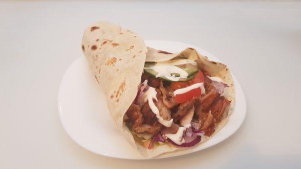 1.Gyros húsos tortilla
