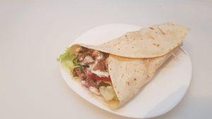 2. Rostonsült csirkemell tortilla